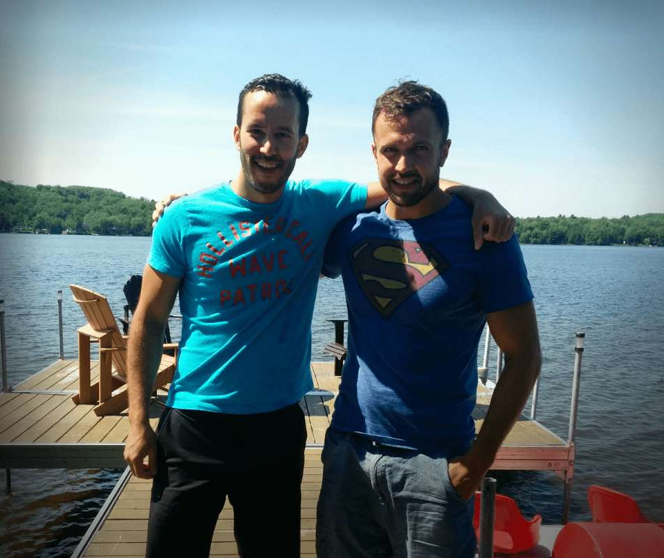 We3 Founders at Quebec Lake